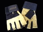 Body Gold Suede Training Gloves