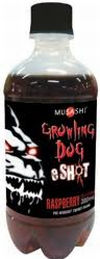Musashi Growling Dog EShot Energy Drink 24 x 300ml