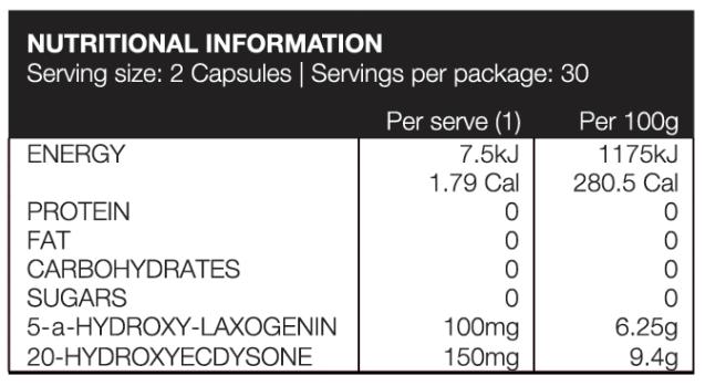 JD Nutraceuticals Anabolic Warfare Label
