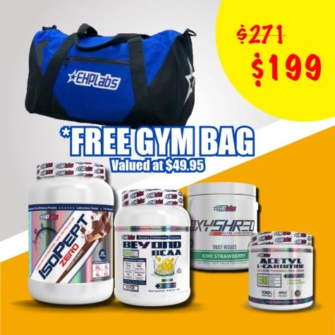 FREE gym bag