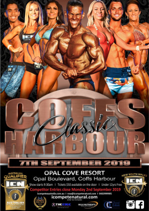 ICN Coffs Harbour Classic Poster 2019