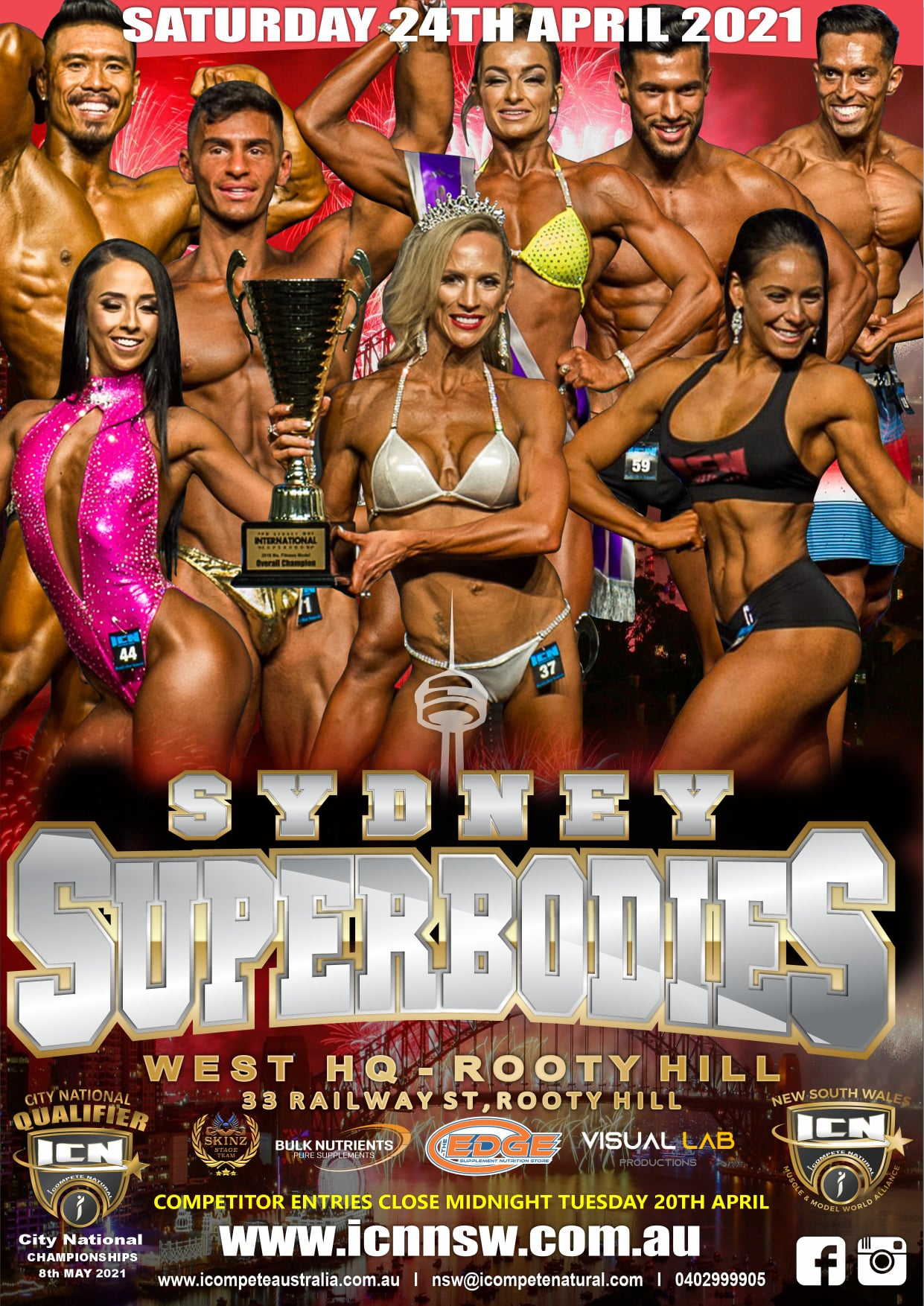 ICN NSW Sydney Superbodies 2021