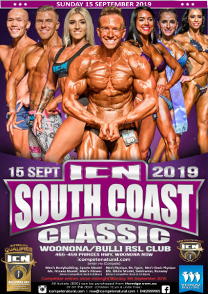 ICN South Coast Classic Poster 2019