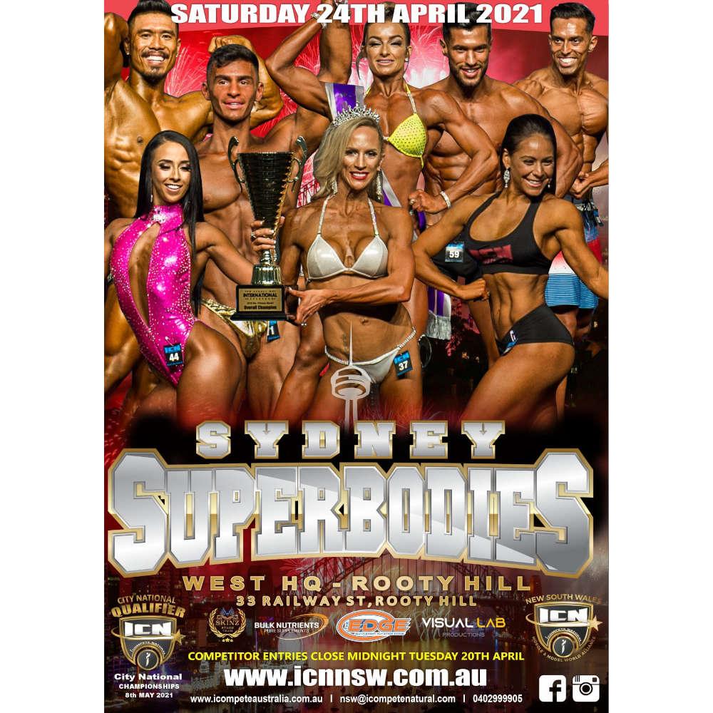 ICN Sydney Superbodies 2021 tickets