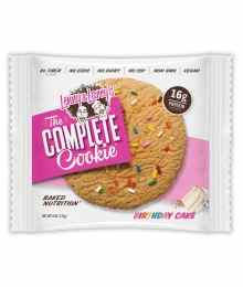 Lenny and Larry complete cookie, birthday cake flavour