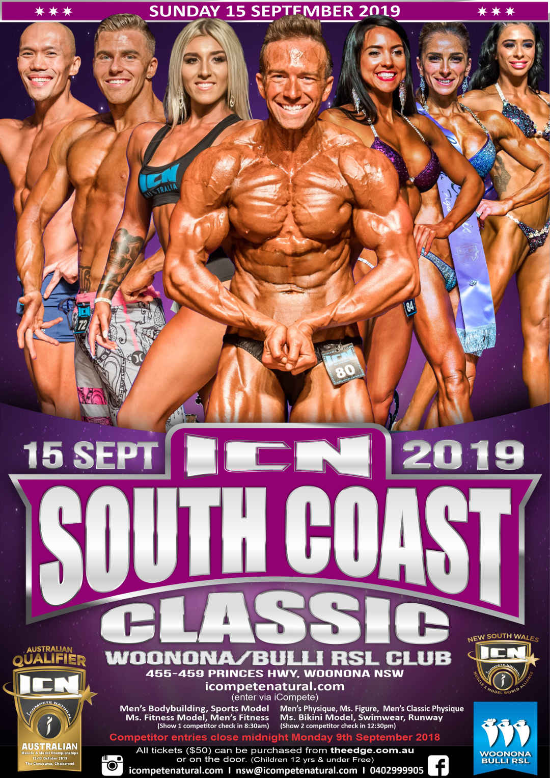 South Coast Classic 2019 Poster