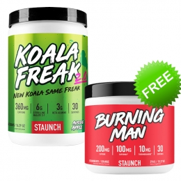Staunch Koala Freak burning man deal
