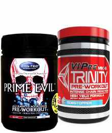 Syn-Tec XCD Pre-Workout duo