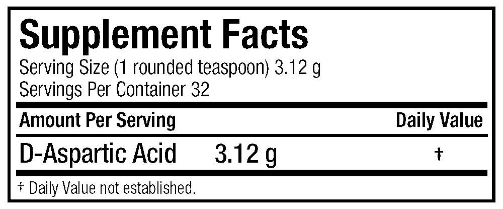 allmax d-aspartic acid label