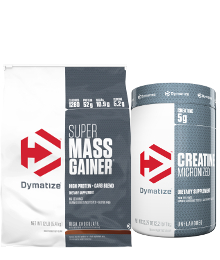 dymatize super mass gainer stack