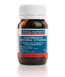 Ethical Nutrients Hi-Strength Natural Vitamin E 30 Cap