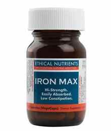 Ethical Nutrients Iron Max Hi Strength (30 caps)