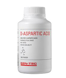 Gen-tec Nutrition D-Aspartic Acid Powder