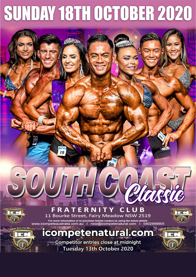 icn south coast classic 2020 poster