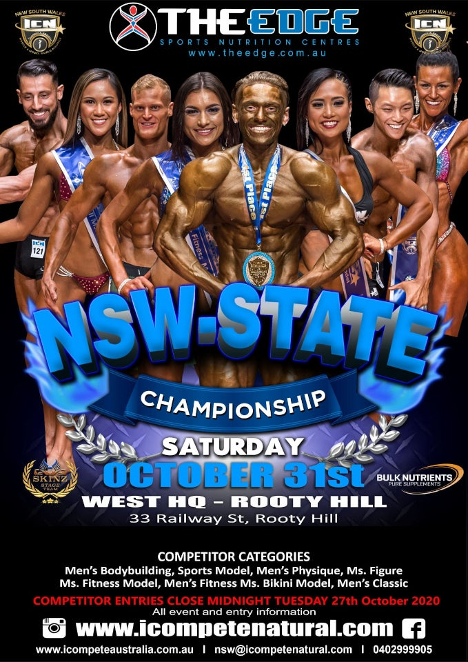 icn NSW state championships 2020