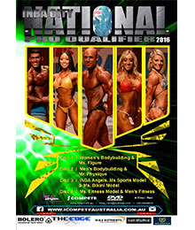 2016 INBA City National Pro Qualifier Bodybuilding Competition DVD
