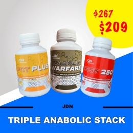 JD Nutraceuticals triple anabolic stack