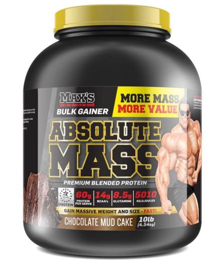maxs absolute mass 10lb