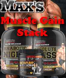 maxs muscle gain stack