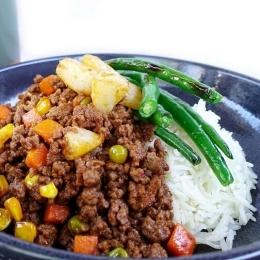 myfitnesskitchn beef mince rice