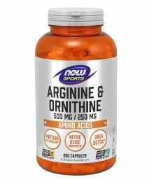 Now Arginine & Ornithine