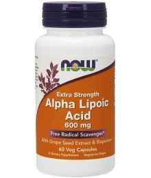 Now Foods Alpha Lipoic Acid ALA
