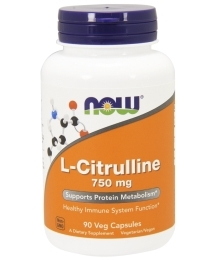 Now Foods L-Citrulline (750mg)