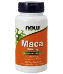 Now Maca 500mg 100 caps