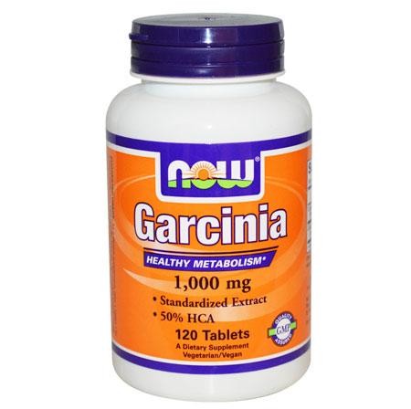 Now Garcinia 1000mg 120 tabs