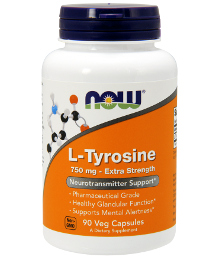 now l-tyrosine 750mg