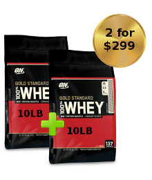 optimum nutrition 10lb 2deal