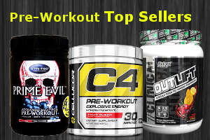 pre workout top sellers