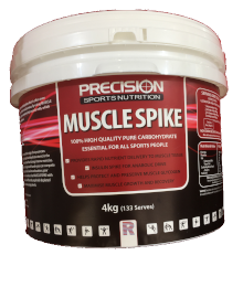 precision muscle spike carbs