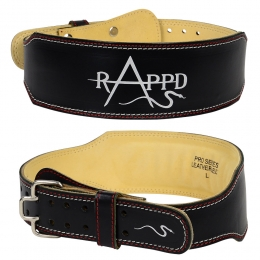 Rappd Leather Weight Lifting Belt 4 inches