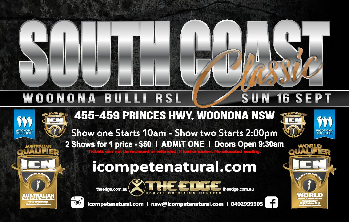 ICN South Coast Classic 2018