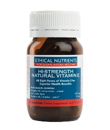 Ethical Nutrients Hi-Strength Natural Vitamin E